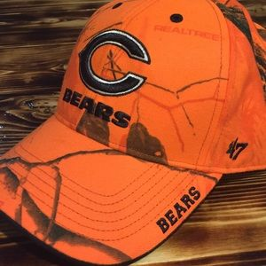 Chicago Bears Realtree Velcro back hat
